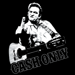 Cash Only, T-Shirt