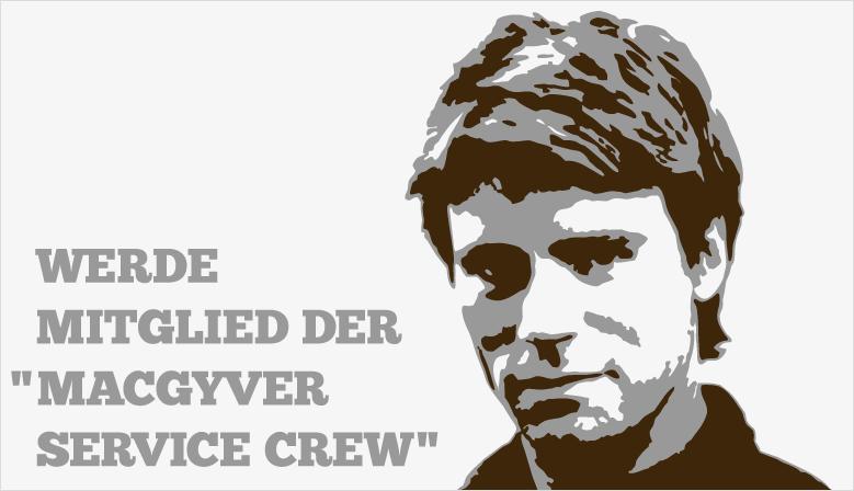 The MacGyver Service Crew